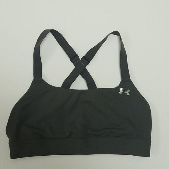 Under Armour Other - Under Armour™ Eclipse Mid Gray Sports Bra S
